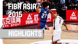 Qatar v Chinese Taipei - Group D - Game Highlights - 2015 FIBA Asia Championship