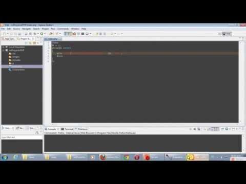 Tutorial - Configurar Aptana Studio (Open Source) para nuevo proyecto PHP - Color código
