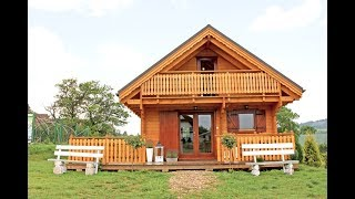 Jutrzenka - dom drewniany całoroczny DREWNEX - wooden house