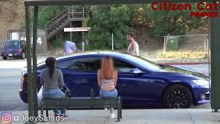 Повелась на Tesla с автопилотом