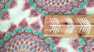 Diy Room Decor Wooden Arrow!!