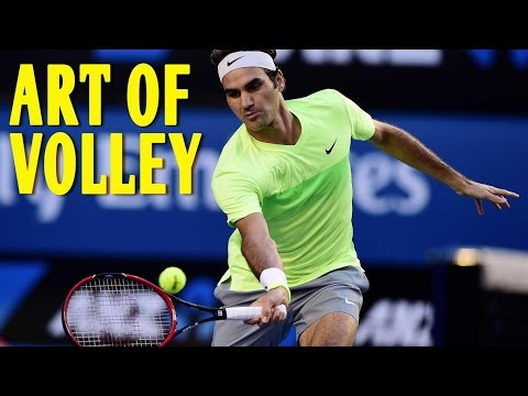 ROGER FEDERER : The Art of Volleying