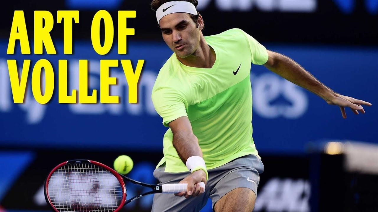 Roger Federer Amazing Drive Volleys Youtube
