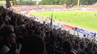 SV Darmstadt 98  vs. St. Pauli  Torjubel zum 1:0