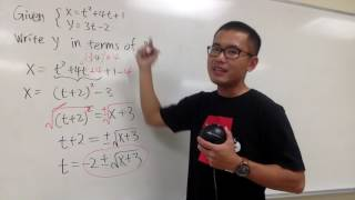 Write y in terms of x from a parametric equation, uniqlo x kaws, snoopy shirt