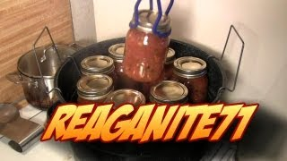 Water Bath Canning Fire Roasted Salsa