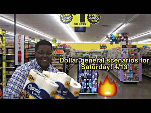 Dollar General Scenarios For Saturday 4/13 – All Digital Coupons – Time To Beat The Brakes OFF DG
