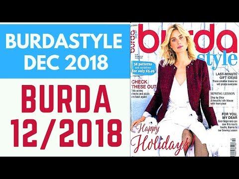 Burda 12/2018 December 2018 Browsethrough And Sewing Plans