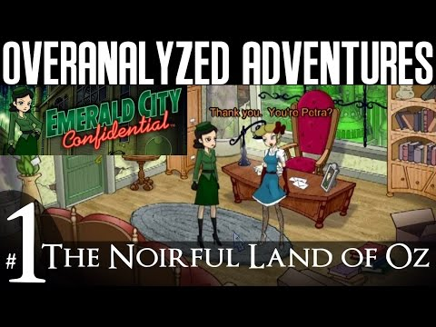 Emerald City Confidential | #1: The Noirful Land Of Oz