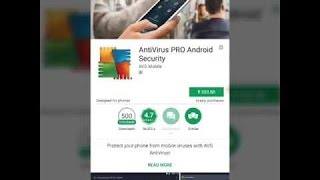 How to download paid Antivirus Pro Android Security (AVG) for free