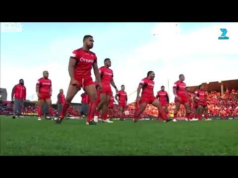 2017 Rugby League World Cup Tongan Sipi Tau v Samoan Siva Tau