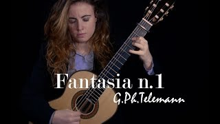 Merce Font - Fantasia n.1, G. Ph. Telemann (Transcr.C.Marchione)