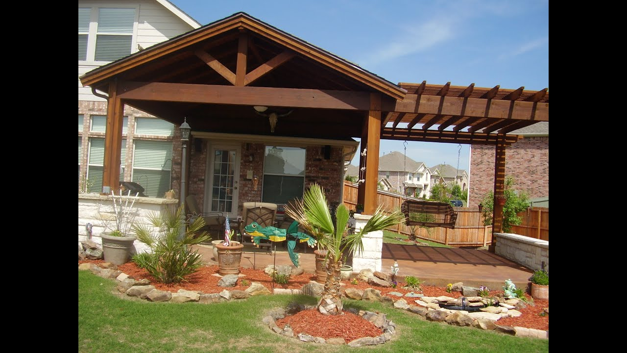 Patio Covers Austin TX 78758   512-458-4353   Covered ... on Backyard Covered Patio Designs id=26530