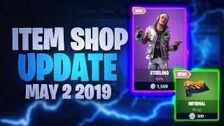 Fortnite Item Shop Update *NEW* STERLING SKIN! [02.05.2019 - 2nd May 2019] Fortnite Battle Royale