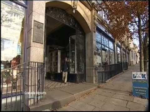 ITV Granada Reports COLNE LANCASHIRE Fred Talbot