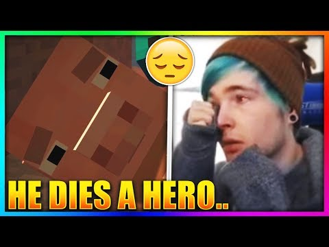 Thumbnail: Top 5 SADDEST Moments In YouTube Videos! 😢 (DanTDM, Guava Juice, Jacksepticeye, Roman Atwood)
