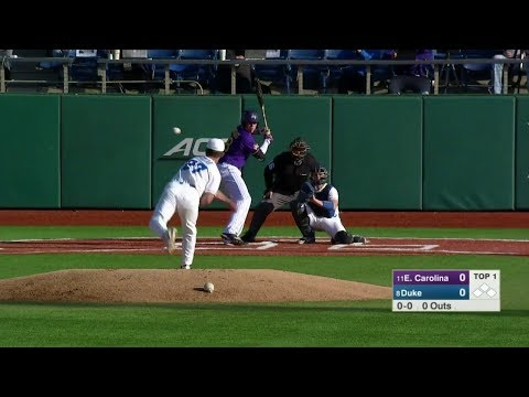 2018 NCAA Baseball #11 East Carolina at #8 Duke 4 17 2018 Mp3