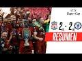 #SupercopaEuropea | Liverpool venció en los penales a Chelsea y se coronó campeón
