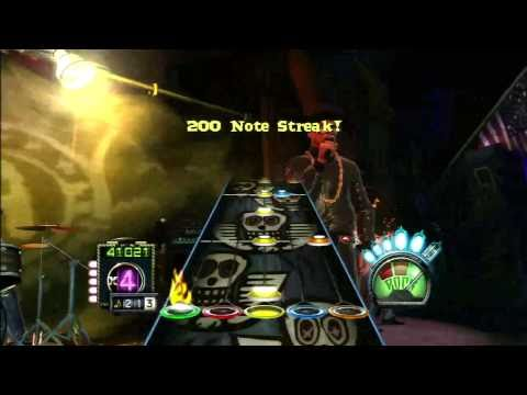 720P HD Guitar Hero Aerosmith  Walk this way Run DMC  Expert Guitar  100% FC
