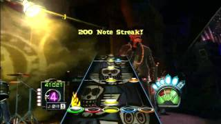 [720P HD] Guitar Hero Aerosmith - Walk this way (Run DMC) - Expert Guitar - 100% FC