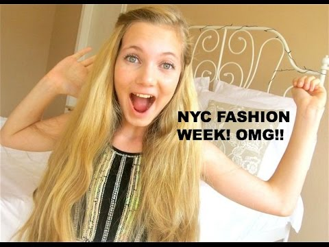NYC Fashion Week Youngest Teen Reporter