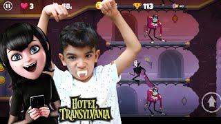 VIREI UM VAMPIRO!!! JOGO HOTEL TRANSYLVANIA ADVENTURES GAME