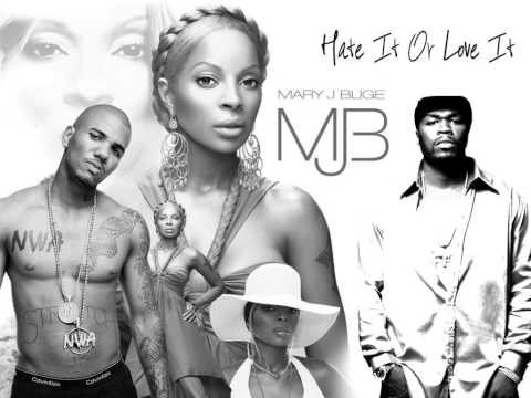 Mary J Blige feat The Game & 50cent  Hate It Or Love It Remix