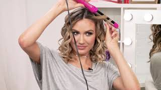 How to get Flirty Beach Waves using the CHI for ULTA Beauty Titanium Curling Wand