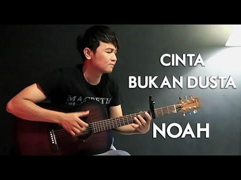 (Noah) Cinta Bukan Dusta - Nathan Fingerstyle   Guitar Cover
