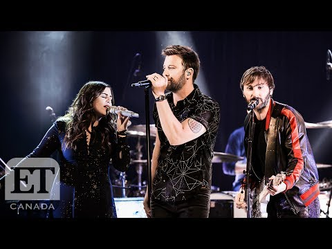 Lady Antebellum Perform Heart Break In Toronto