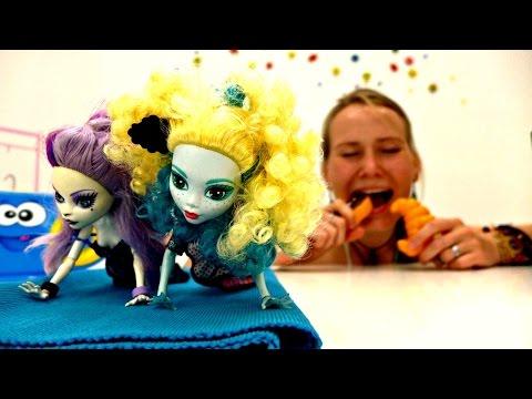 Видео для девочек. Монстр Хай: занимайся спортом для красивой фигуры!
