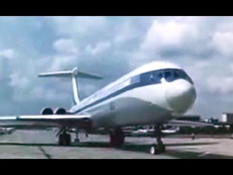 Aeroflot Ilyushin Il-62M Promo Film - 1973