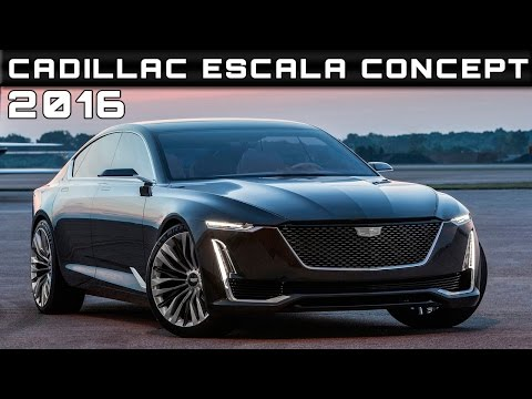 2018 cadillac escala review walkaround features sp doovi. Black Bedroom Furniture Sets. Home Design Ideas