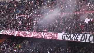 Milan Novara 2-1 ''GOAL DI PIPPO LO STADIO ESPLODE !!! '' IN FULL HD'' .