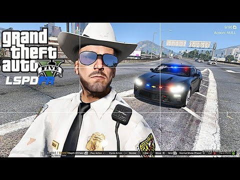 GTA 5 LSPDFR 0.3.1 - EPiSODE 98  - LET'S BE COPS - STATE TROOPER (GTA 5 PC POLICE MODS)