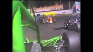 West Super Modified Racing In Car Martin McKeefery