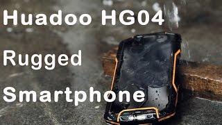 4G HD 4.7 inch Screen Huadoo HG04 Rugged Smartphone Review