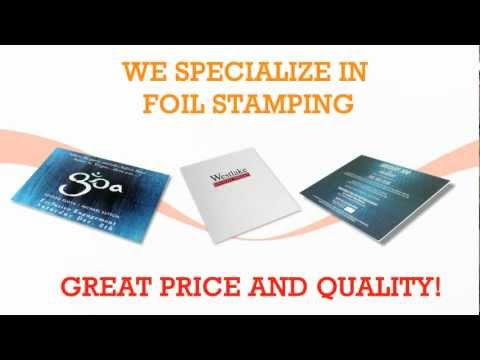 Foil Stamping in Los Angeles by Gold Image Printing