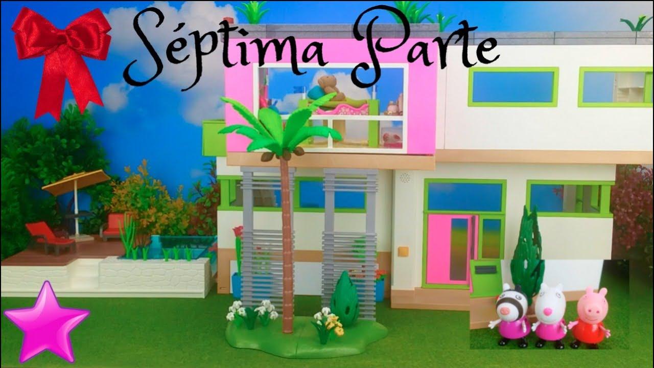 Novela Peppa Pig 7 PARTE EN CASA DE ZOE CEBRA Casa y