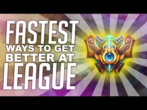The FASTEST Way To Get Better at League of Legends!   KatEvolved