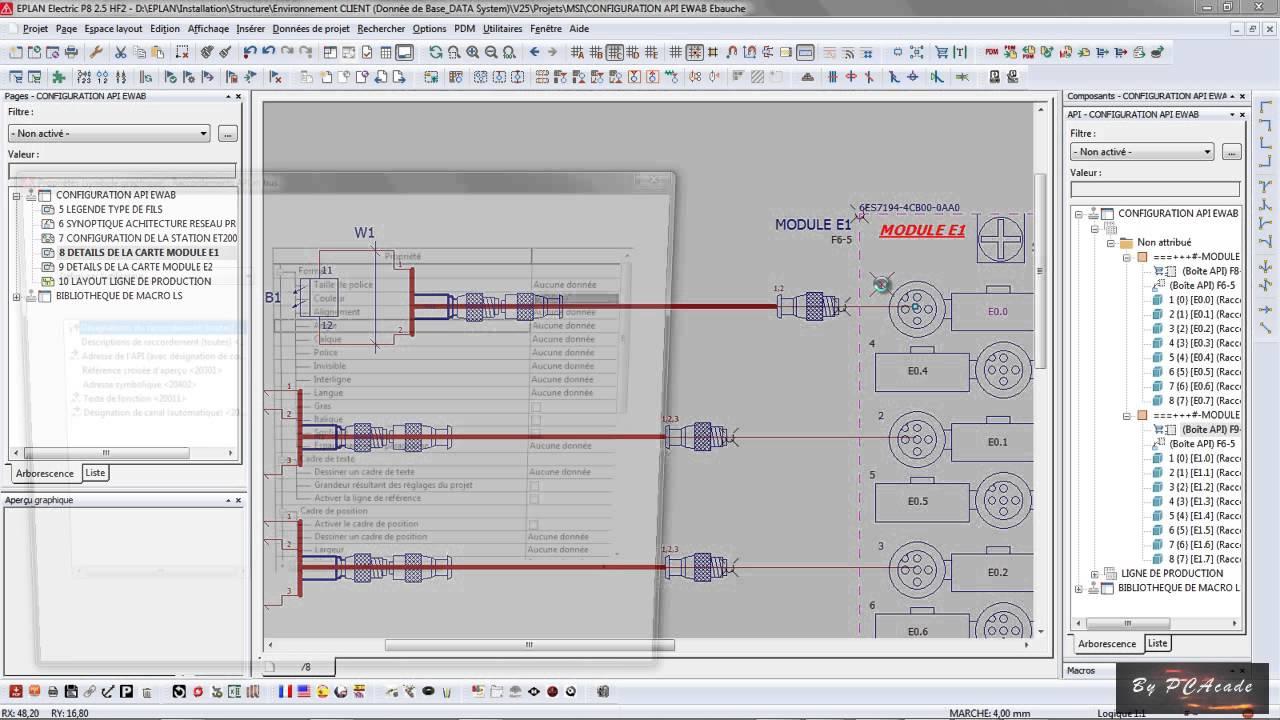 EPLAN Electric P8 MACRO & API (AUTOMATISME)  YouTube