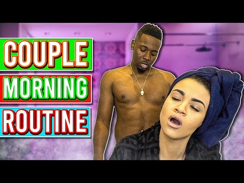 OUR MORNING ROUTINE AS A COUPLE!! (TRYING TO MAKE A BABY EDITION)