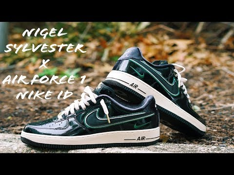 Nigel Sylvester X Air Force 1 Nike ID Review & Unboxing Shot