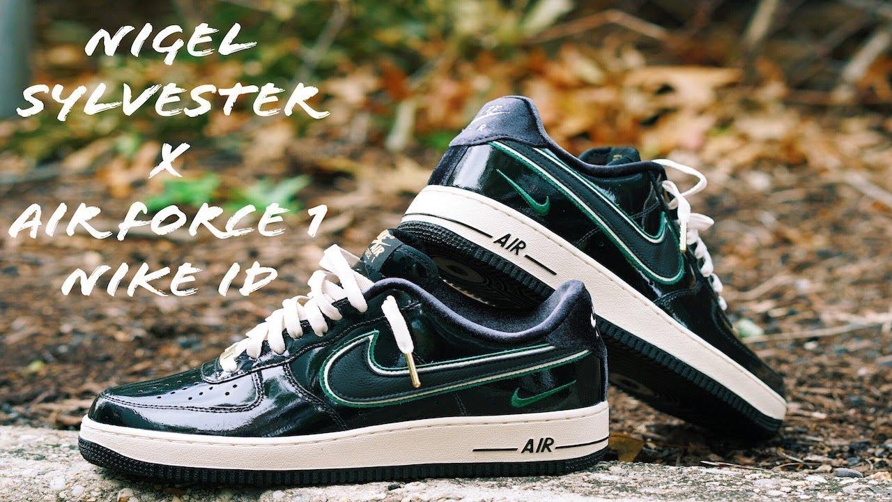 Nigel Sylvester X Air Force 1 Nike ID