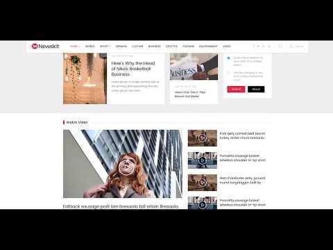 NewsKit: Professional Responsive Joomla Template For News And Magazine Sites