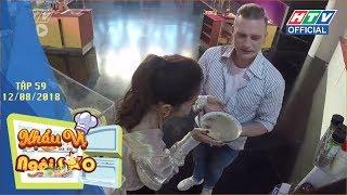 HTV KHẨU VỊ NGÔI SAO | Kyo York mê gà, không biết ăn khô và mắm tôm | KVNS #59 FULL | 12/8/2018