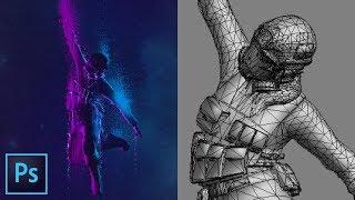 3D Karakter Photoshop CC bir Öğretici oluşturmak