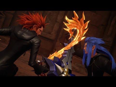 Kingdom Hearts 3: Saix Boss Fight #21