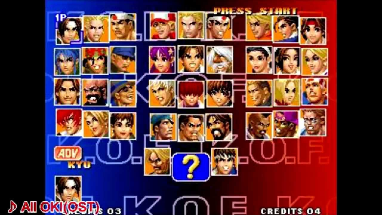 39e1d360d KOF All Player Select Collection (OST   AST) - YouTube