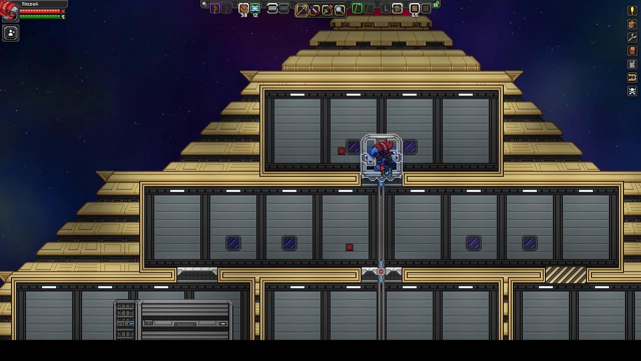 Little Ship Elevator - Starbound